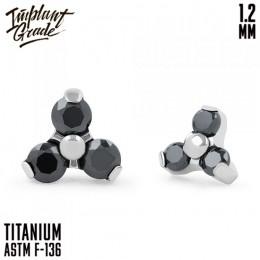 Накрутка Trio Black Implant Grade 1.2 мм титан (4,3мм, Титан ASTM F136)