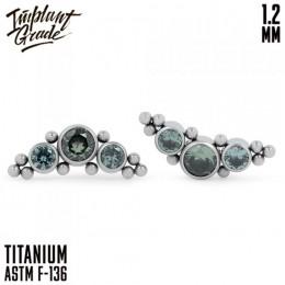 Накрутка Orion's Belt Green electric Implant Grade 1.2 мм титан