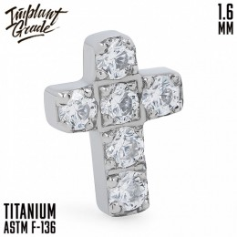 НАКРУТКА DIAMOND CROSS IMPLANT GRADE 1.6 ММ ТИТАН
