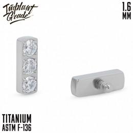 НАКРУТКА DIAMOND LINE IMPLANT GRADE 1.6 ММ ТИТАН